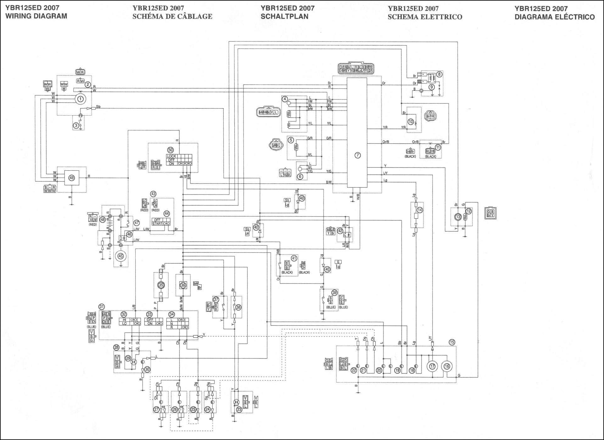 Ysr50 Wiring Diagram Page 2 And Schematics Yamaha Tt500 Ysr Race Product Diagrams Source Parts Accessories Racing Fi U30e2 U30c7 U30eb U306e U914d U7dda