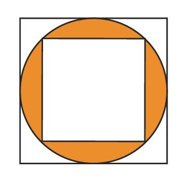 部分の面積ですが、円の面積 ... : 算数面積の求め方 : 算数