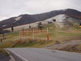 今日のスキー場