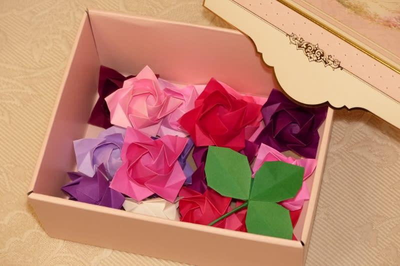 クリスマス 折り紙 折り紙バラの葉折り方 : blog.goo.ne.jp