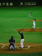 豊島投手 vs ローズ選手(1)