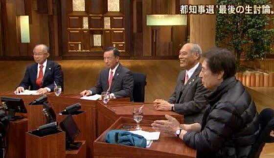 テレビ朝日2月6日21時54分