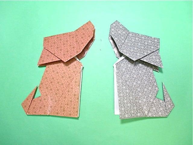 ハート 折り紙 折り紙 犬 簡単 : blog.goo.ne.jp