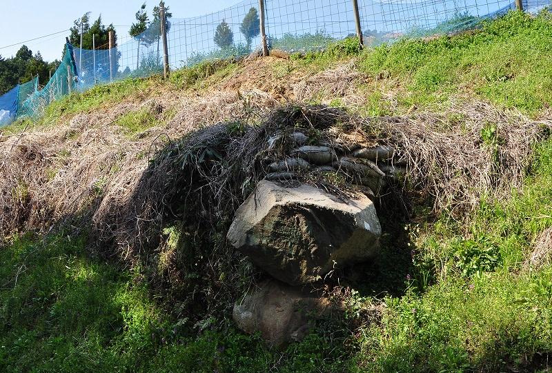 大貝ヲマエジリ2号墳の石材