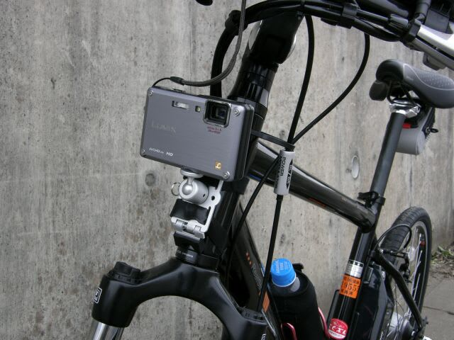 自転車用のカメラマウント「PS ...