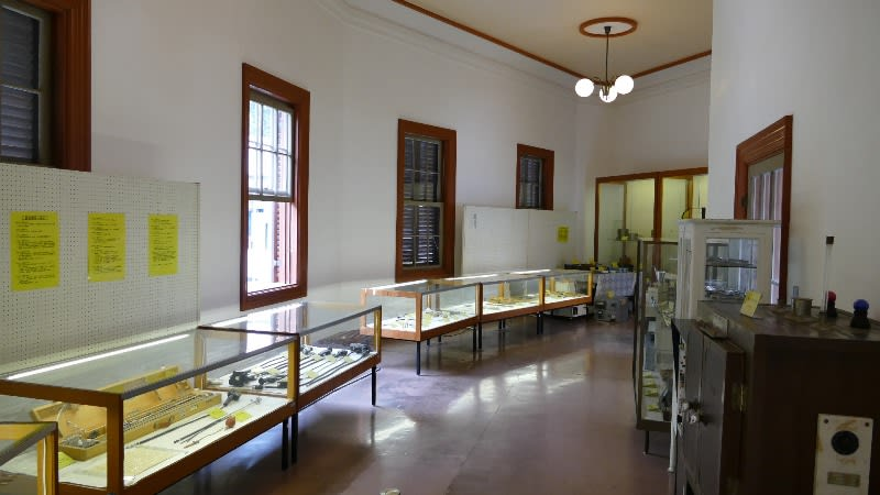 山形市郷土館展示室