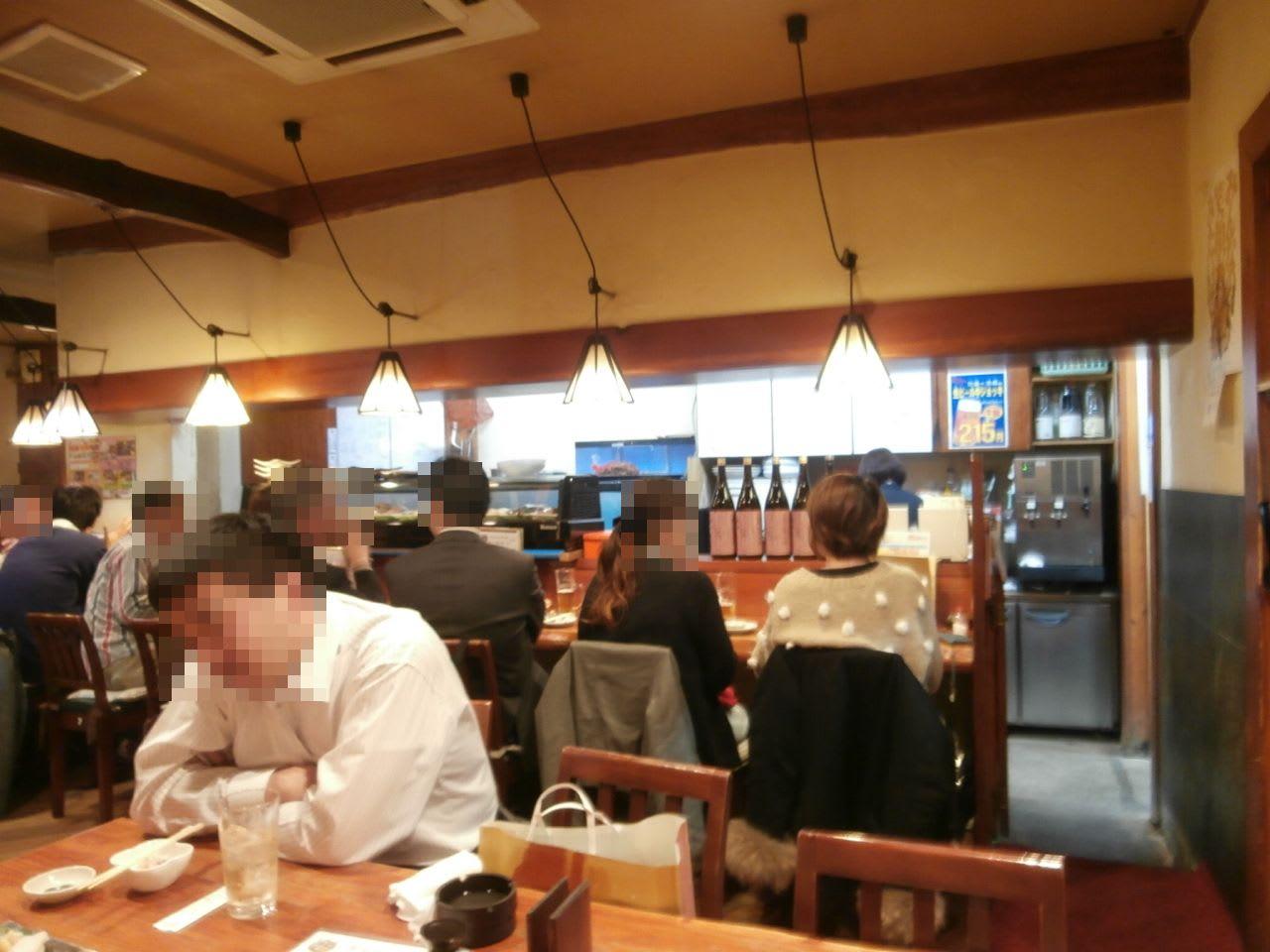 一人宴会in福山「魚鮮」 - KOfyの「倍行く」人生