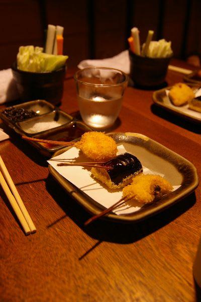 ホタテ・なすの肉詰め・白身魚