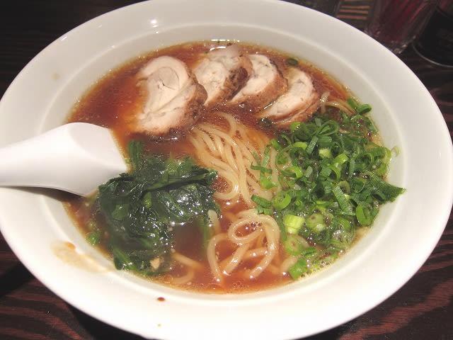 とりチャーシュー麺