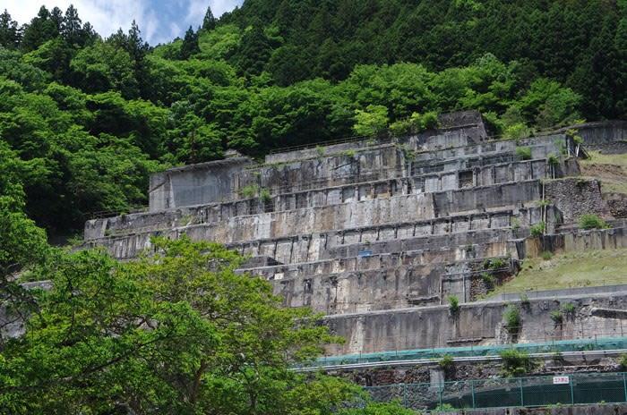 神子畑選鉱場・建屋跡