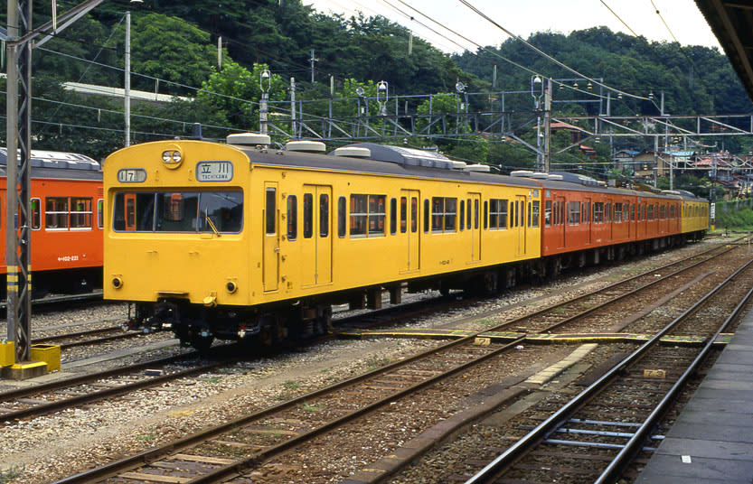 青梅・五日市線103系混色編成 - Asian Railway Plaza