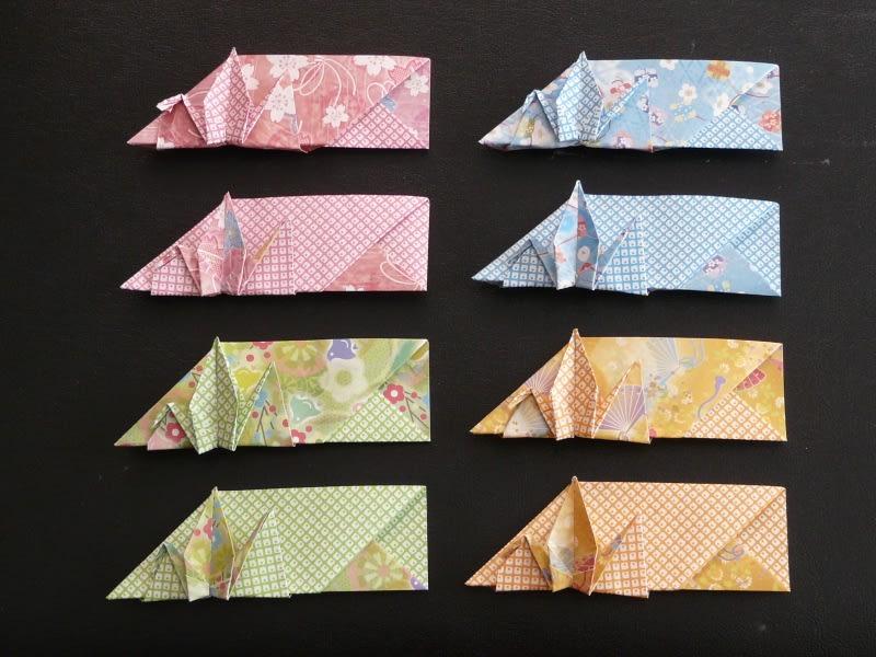 クチバシ部分がこれで合って ... : 箸入れ 折り紙 : すべての折り紙