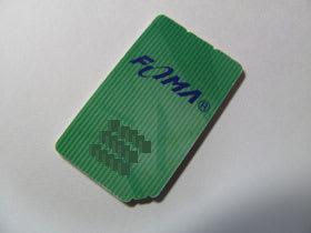 緑色FOMAカードカード