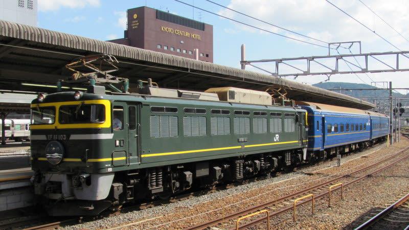 EF81+24系寝台特急「日本海」