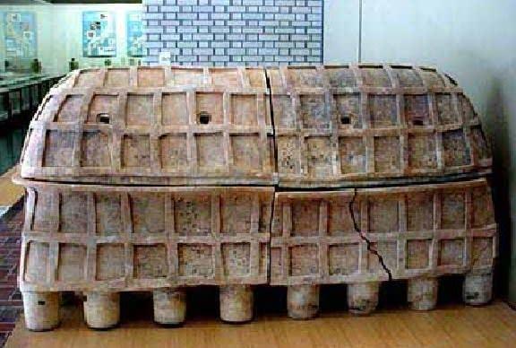 赤井谷横穴陶棺