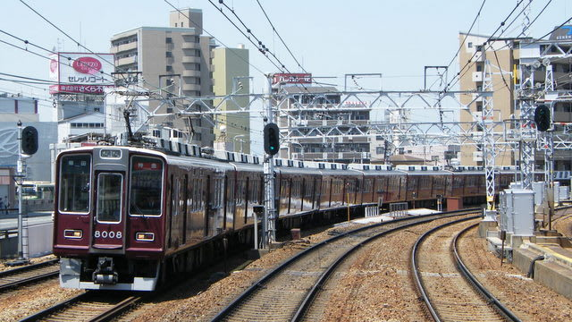 阪急神戸線特急
