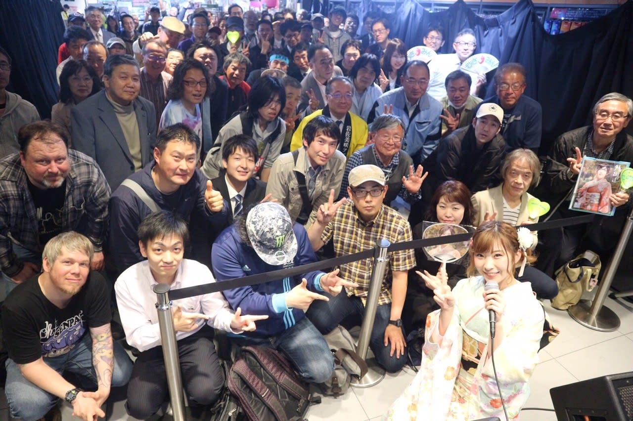 【画像】 AKB岩佐美咲のイベントの様子がヤバイと話題 これを見てもアイドルやれますか?  [486699244]YouTube動画>2本 ->画像>75枚