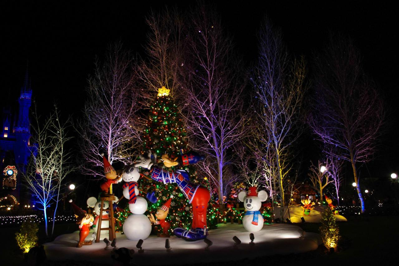 ディズニー クリスマスファンタジー 夜編 - 黄色いくまの生活