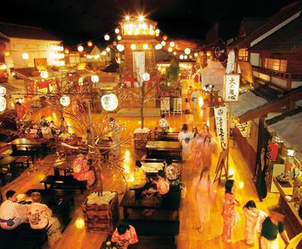 現代から江戸でタイプスリップして温泉とサウナに行こう!