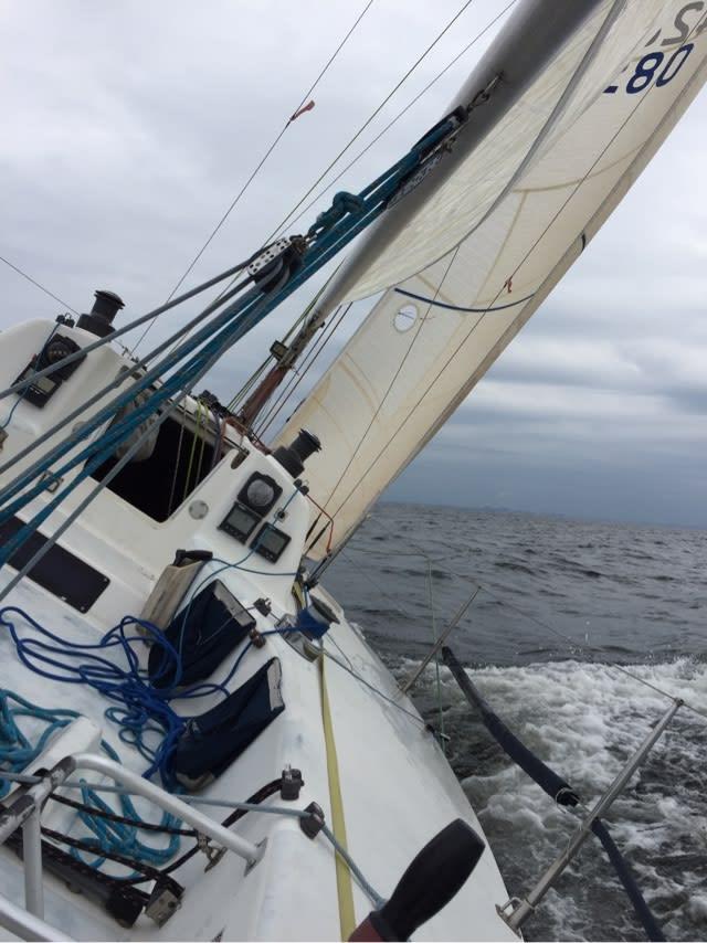 """セイリング練習 - ヨット """"スパロー"""" 航海日誌"""