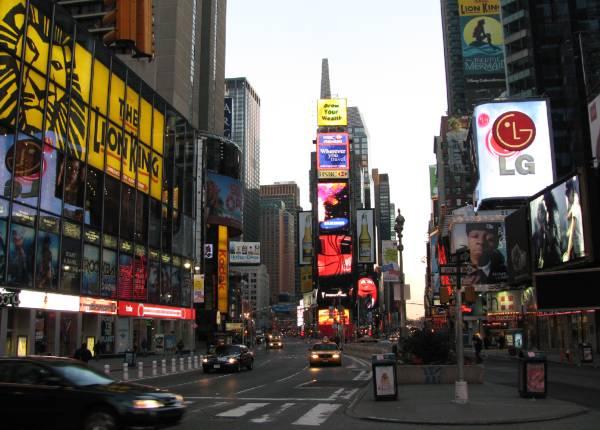 ニューヨークといえばはずせないのがタイムズスクエア タイムズスクエアとい... NY タイムズス