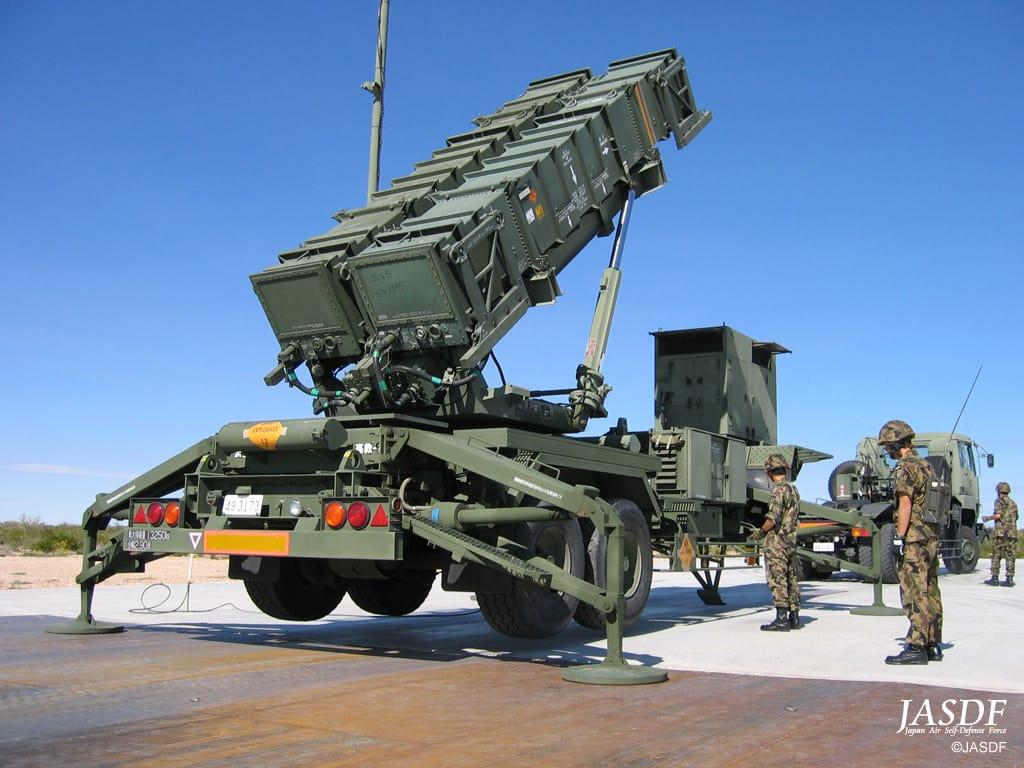 この邀撃ミサイルは、湾岸戦争で使用された、パトリオットの改良型