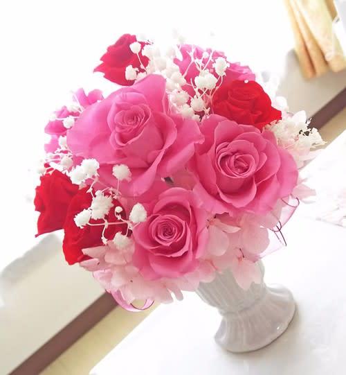 千葉市のラコリーヌのお花の教室【プリザーブドフラワー】