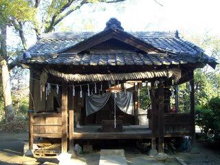 蔀山稲荷神社の社殿