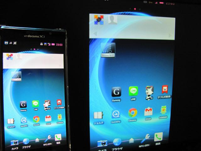 ELUGA XとワイヤレススクリーンボックスN01でMiracast接続成功