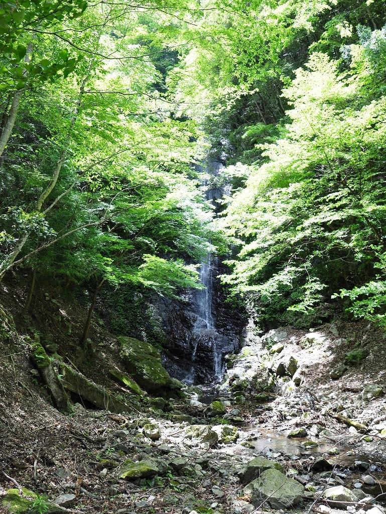 黒瀬滝の谷