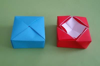 ハート 折り紙:折り紙 小箱-blog.goo.ne.jp