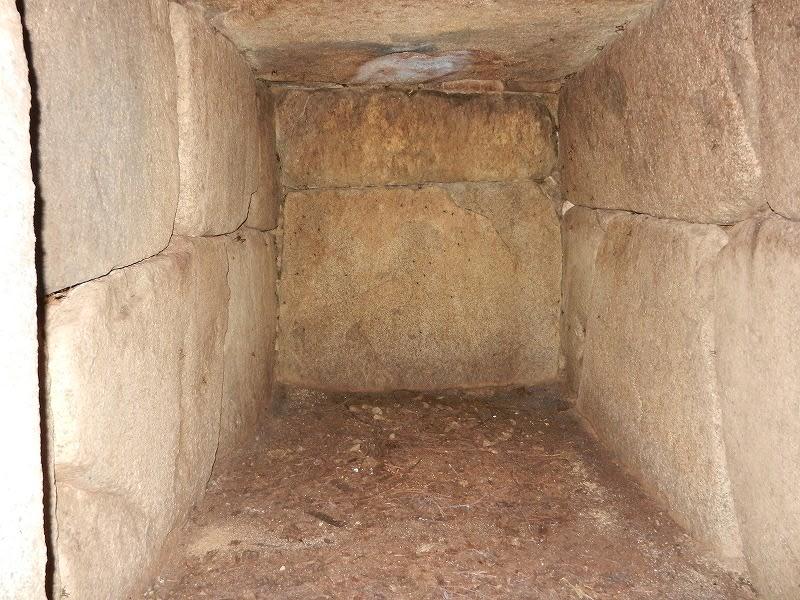 エンドウ山1号墳石室