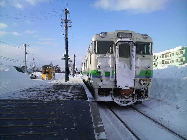 キハ40@石狩月形駅