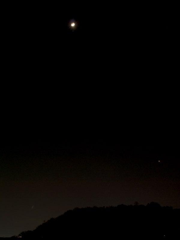 03月25日 月、アルデバラン、金星