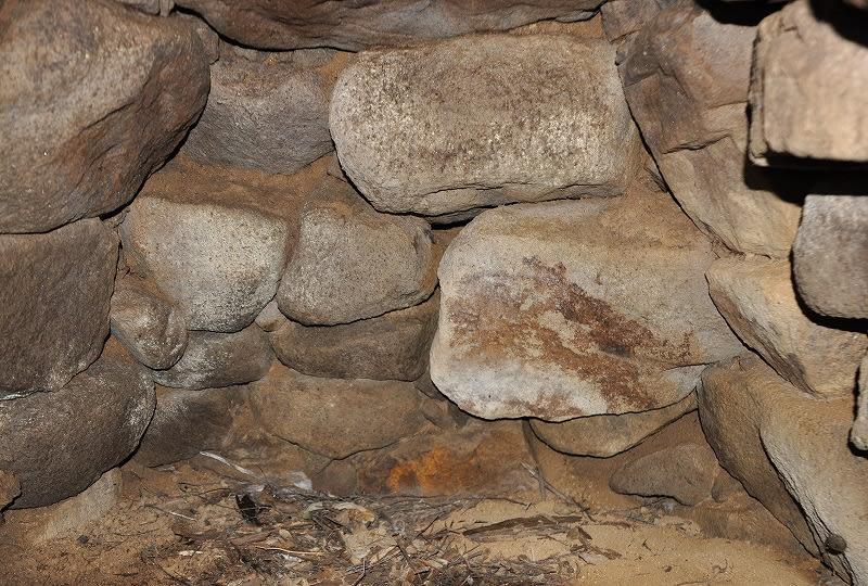 北谷東古墳の石室