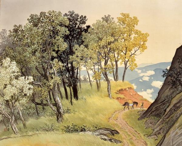「川合玉堂」 - 森・里山・巨樹・農業