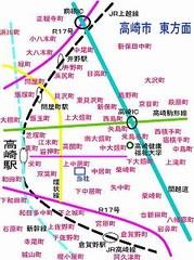 に高崎市の町名図 - 高崎 ...