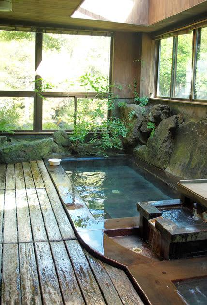 唐沢鉱泉・浴室