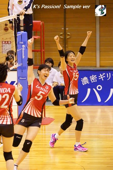 Pink...! (鍋谷友理枝) -2015/16 V.LEAGUE- - LOVE IN VA