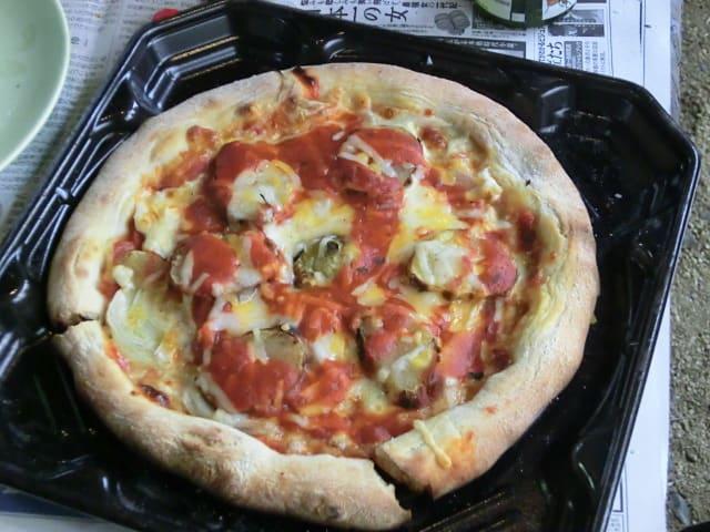 焼ジャガのっけピザ