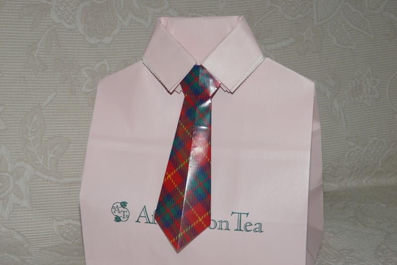すべての折り紙 折り紙 プレゼント 花束 : 折り紙 ~ネクタイ~ - えつこ ...
