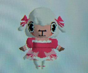 iモード版お洒落メイドコースのメイちゃん(バレンタイン)は大胆な衣装