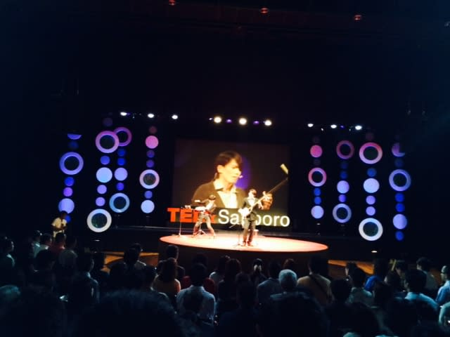 北翔大学 佐々木忍弥くんTEDxSapporo で演奏、発表 - 北翔大学 教育文化学部 教育学科