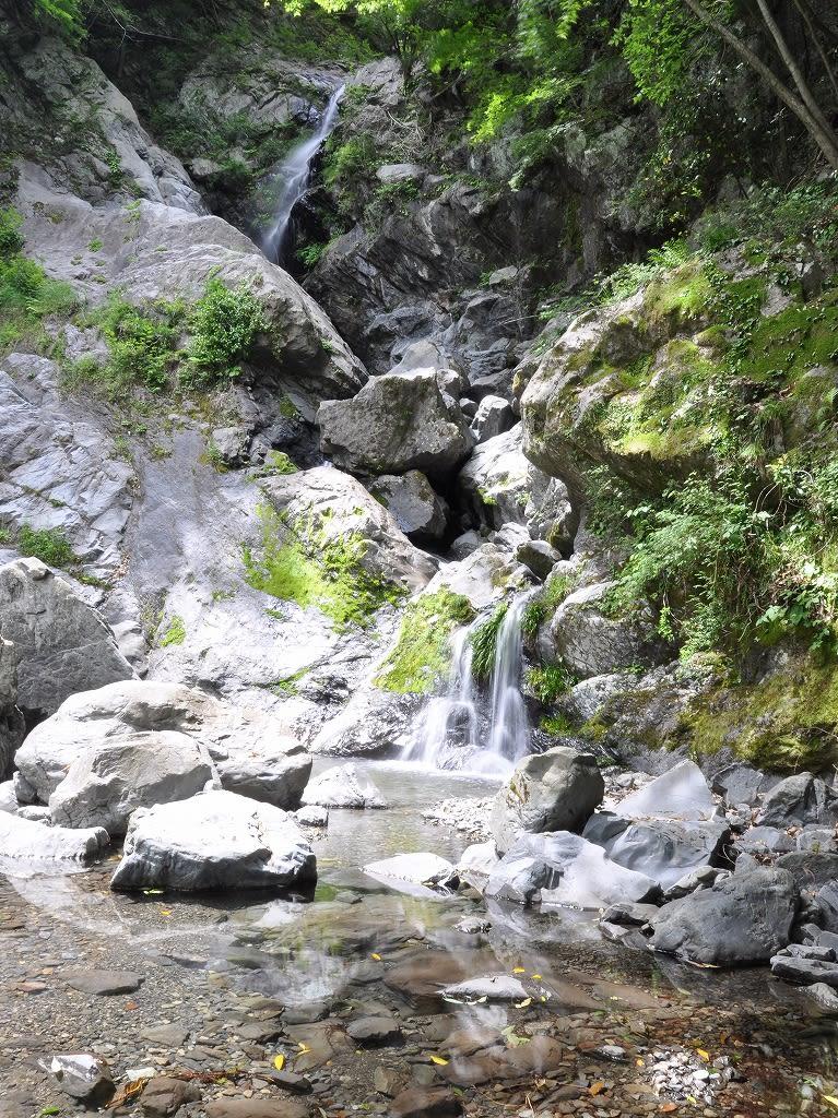 白滝上段と中段