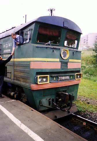 シベリア鉄道は最東端のワニノ駅...