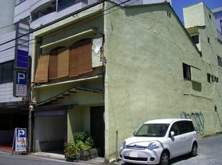 かつては寿司屋だった建物(広島市中区銀山町)