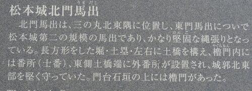 松本の城下町湧水群歩き回り 北門大井戸