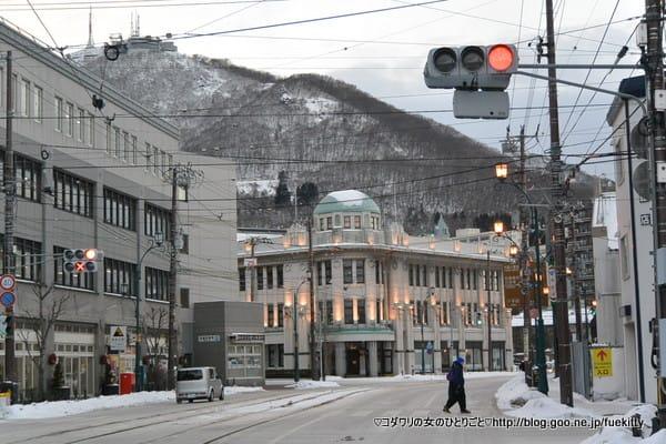 函館街角風景 湯の川〜十字街☆2014年冬・函館
