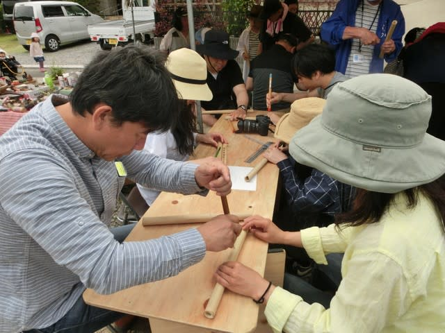 雪浦ウィーク2017 ケーナ作り体験 無事終了!