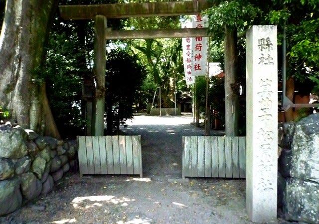 宇治山田駅に程近い、岩渕の「箕曲中松原神社」